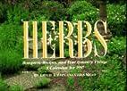 Herbs Calendar: 1997 by Emelie Tolley
