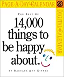 Kipfer, Barbara Ann: Best of 14,000 Things to Be Happy About 2002 Calendar
