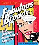 Petras, Ross: Fabulous Broads Page-A-Day Calendar 2005 (Page-A-Day Calendars)