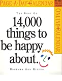 Kipfer, Barbara Ann: The Best of 14,000 Things to be Happy About Calendar 2006