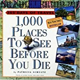 Schultz, Patricia: 1,000 Places to See Before You Die Page-A-Day Calendar 2008