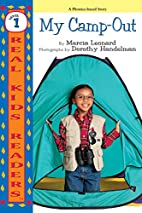 My Camp-Out by Marcia Leonard