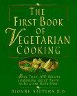 The First Book of Vegetarian Cooking: More…