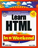 Callihan, Steven E.: Learn Html in a Weekend