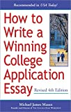 Mason, Michael: How to Write a Winning College Application Essay