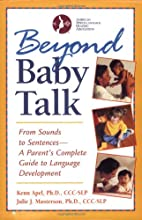 Beyond Baby Talk: From Sounds to Sentences,…