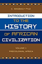 Introduction to the History of African…