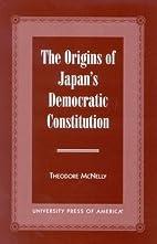 The origins of Japan's democratic…