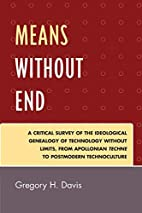 Means Without End: A Critical Survey of the…