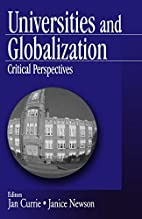 Universities and Globalization: Critical…