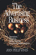 The Advertising Business: Operations,…