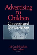 Advertising to Children: Concepts and…
