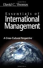 Essentials of International Management by…