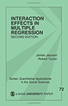 Interaction Effects in Multiple Regression…