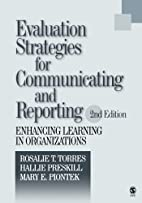 Evaluation Strategies for Communicating and…
