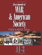 Encyclopedia of War and American Society…