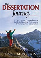 The Dissertation Journey: A Practical and…