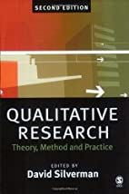 Qualitative Research: Theory, Method and…