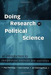 Doing Research in Political Science: An…