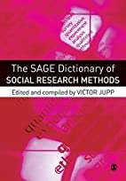 The SAGE Dictionary of Social Research…