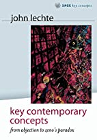 Key Contemporary Concepts: From Abjection to…