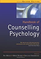 Handbook of Counselling Psychology by Mr Ray…