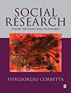 Social Research: Theory, Methods and…