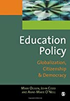 Education Policy: Globalization, Citizenship…
