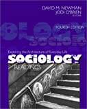O'Brien, Jodi: Sociology Readings: Exploring the Architecture of Everyday Life  Readings