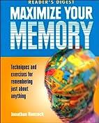 Maximize Your Memory by Jonathan Hancock