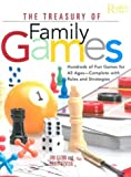 Glenn, Jim: The Treasury of Family Games: Hundreds of Fun Games for All Ages, Complete with Rules and Strategies