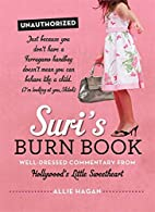 Suri's Burn Book: Well-Dressed Commentary…