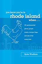You Know You're in Rhode Island…