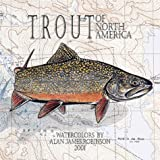 Robinson, Alan James: Trout of North America 2001 Calendar