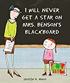 I Will Never Get a Star on Mrs.…