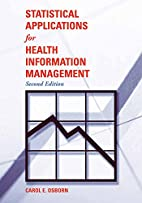 Statistical Applications for Health…