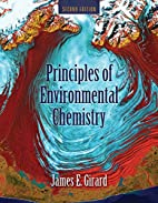 Principles of Environmental Chemistry by…