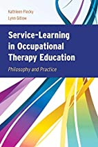 Service-learning in occupational therapy…