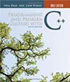 Programming and Problem Solving with C :…