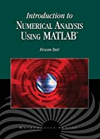 Introduction to Numerical Analysis Using…
