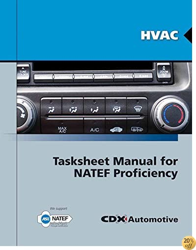 HVAC Tasksheet Manual for NATEF Proficiency
