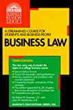 Robert W. Emerson: Business Law (Barron's Business Review Series)