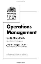 Operations Management (Barron's…