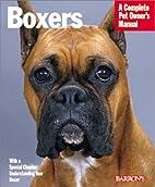 Boxers (Barron's Complete Pet Owner's…