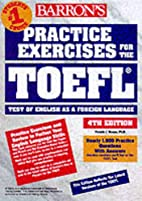 Practice Exercises for the Toefl Test (4th…