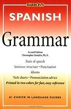 Barron's Spanish Grammar by Christopher…