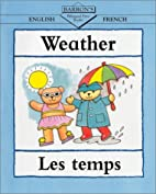Barron's Bilingual First Books: Weather by…