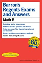 Barron's Regents Exams and Answers: Math B…