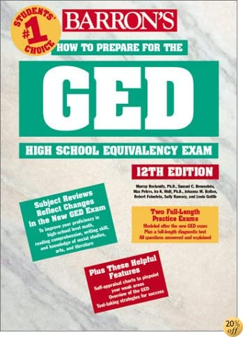 How to Prepare for the GED (BARRON'S HOW TO PREPARE FOR THE GED HIGH SCHOOL EQUIVALENCY EXAM (BOOK ONLY))