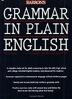 Grammar in Plain English by Harriet Diamond